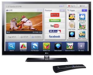 LG Смарт ТВ в 2011 году