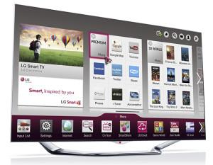 Оболочка LG Smart TV