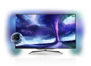 Компания Philips радует российских пользователей новыми телевизорами с функциями 3D и Smart TV