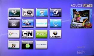 AQUOS NET в телевизоре Sharp Smart TV