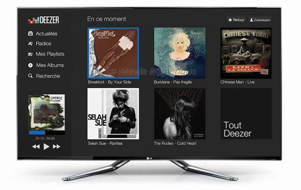 LG Smart TV Deezer