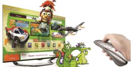 Новые игры в LG CINEMA 3D Smart TV телевизоры
