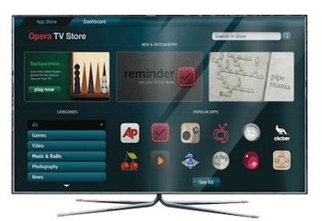 Магазин приложений для SmartTV от Opera Software