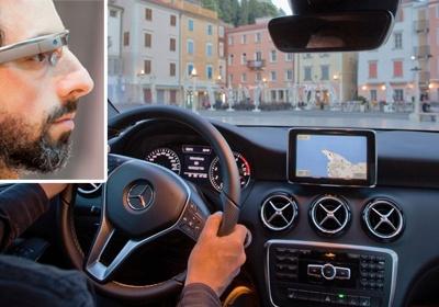 Google Glass интегрируют в Mercedes