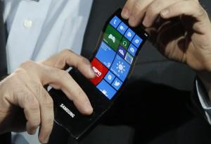 Samsung займется разработкой складных экранов