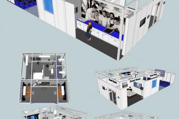 """На выставке HI-TECH building презентован """"умный"""" дом"""