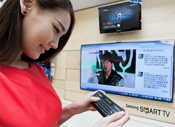 Удобство эргономичной беспроводной клавиатуры для Samsung Smart TV
