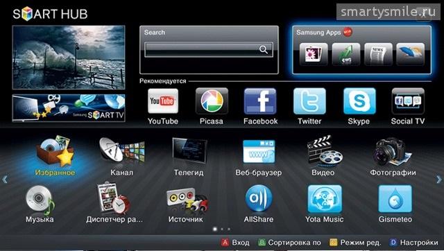 Приложения для смарт ТВ