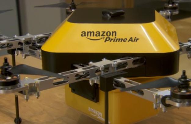 Amazon ускорит доставку товаров за счет дронов