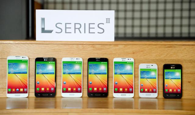 Новая L-серия смартфонов от LG
