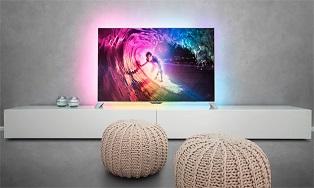 «Филипс» выпустит новые телевизоры серии 8000 ТВ на «Андроиде