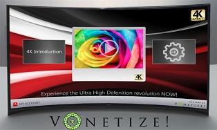 Vonetize запускает 4К онлайн-сервис