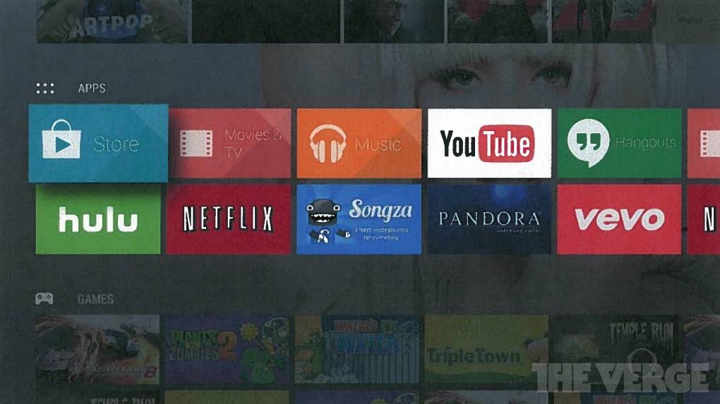 Google работает над Android TV