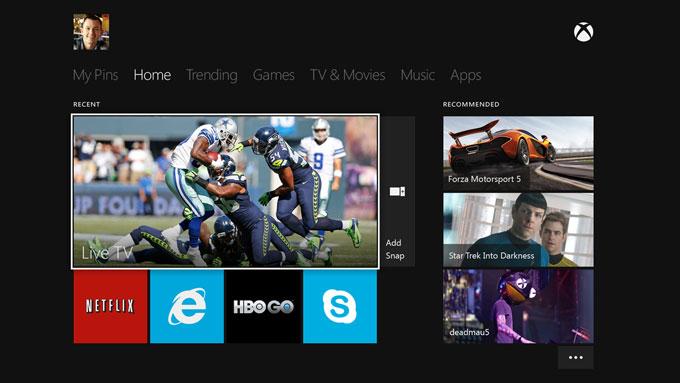 Microsoft превратит Xbox One в ТВ-приставку