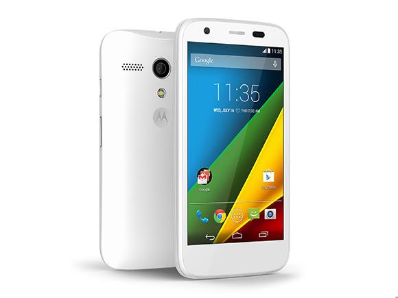 Обновленный Moto G с картой MicroSD и LTE