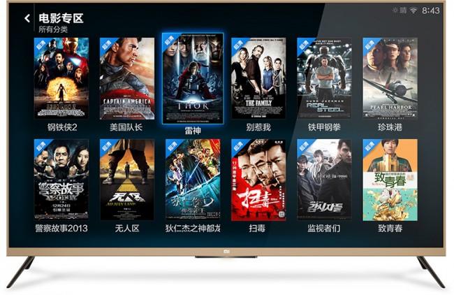 Xiaomi продает 4К телевизор за $640