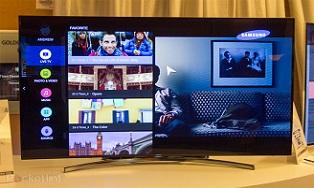 Samsung показала телевизор на Tizen