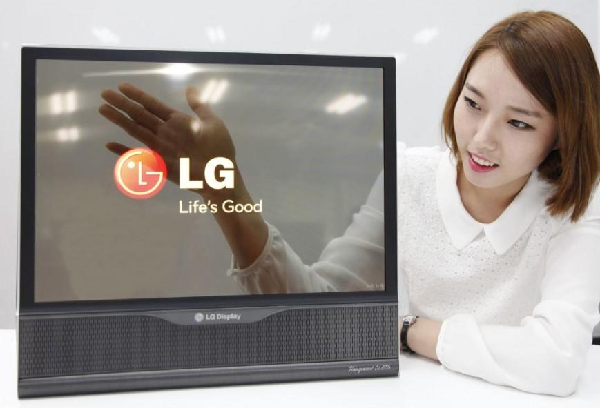 Компания LG обещает выпустить 60-дюймовый телевизор, который можно будет свернуть