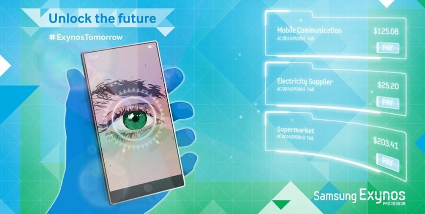 Samsung Galaxy Note 4, возможно, будет со сканером радужки