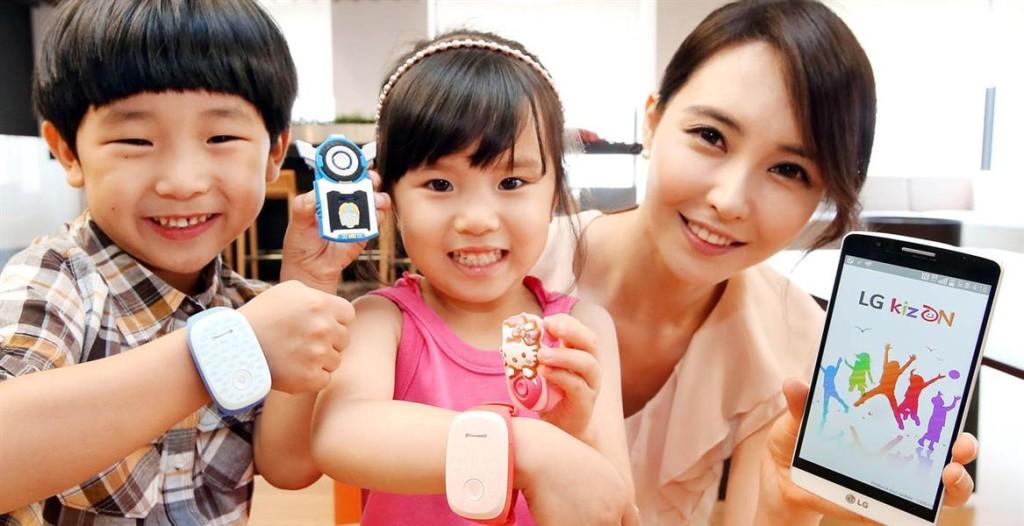 Умный браслет LG KizON для самых заботливых родителей