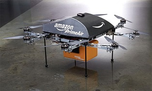 Amazon начинает полевые испытания дронов для доставки заказов