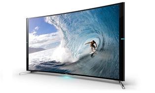 Sony представила два «больших» изогнутых 4К телевизора
