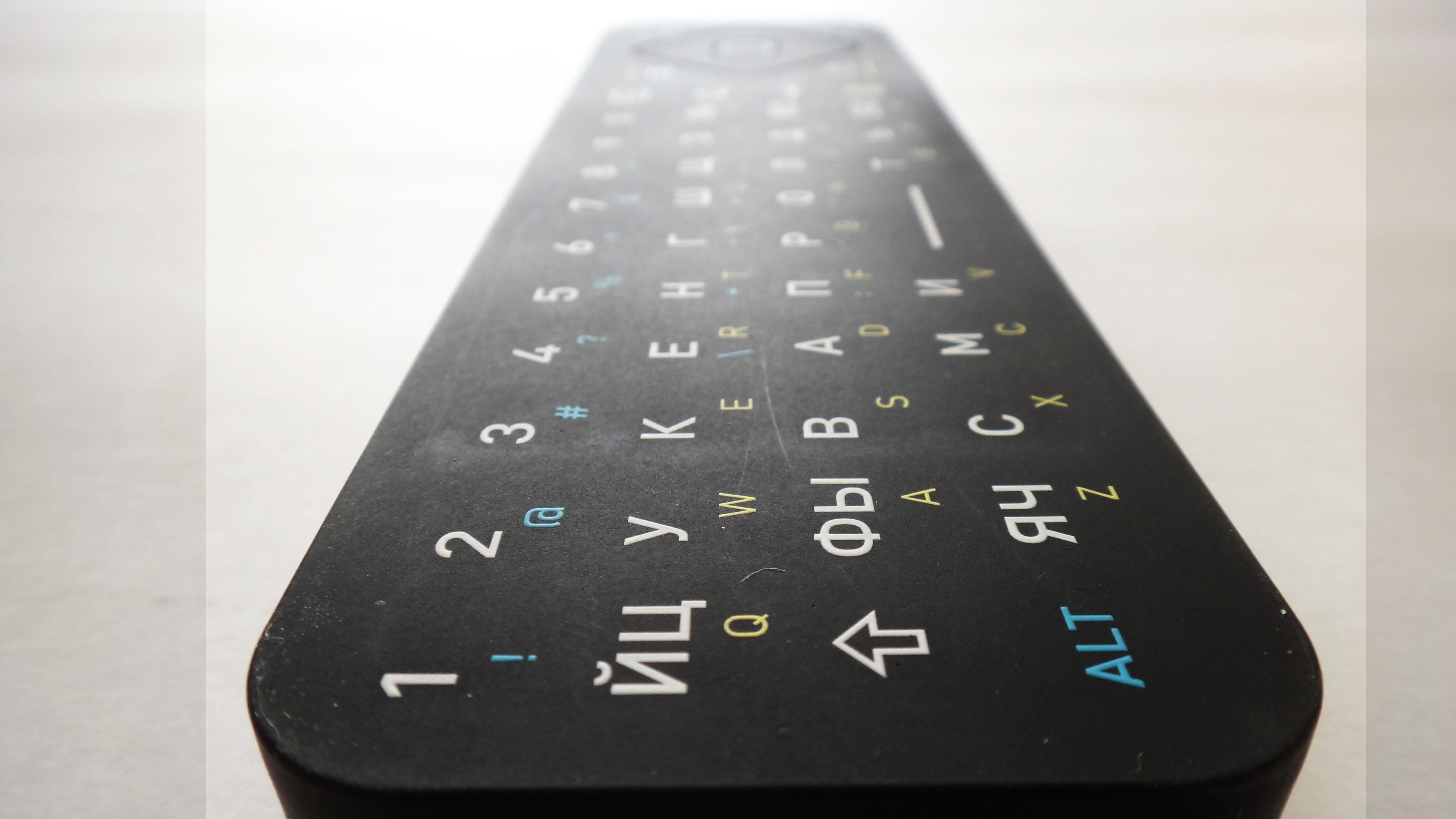 QWERTY клавиатура пульта ДУ