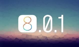 обновление iOS 8.0.1