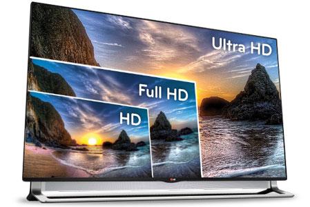 Тест кабельного 4К телевидения