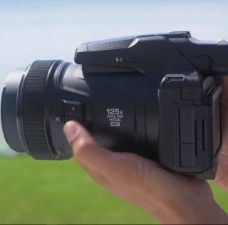 Nikon P1000 — камера с рекордным 125-кратным зумом