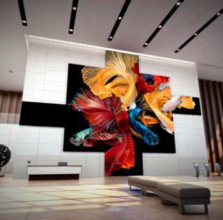 CES 2019: Модульный телевизор Samsung The Wall
