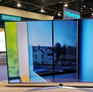 CES 2019: представлен первый в мире LED-телевизор с пьезозвуком в экране