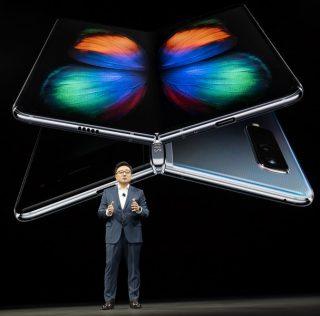 Представлен складывающийся смартфон Samsung Galaxy Fold