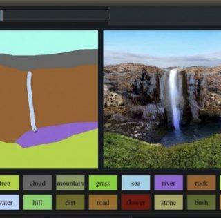 NVIDIA анонсировала приложение превращающее зарисовки в полноценные картины