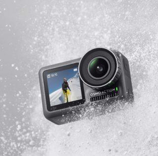 Первая экшен-камера от DJI — Osmo Action