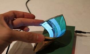 Samsung продемонстрировал полностью гнущийся дисплей