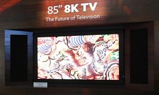 Sharp представила 3D TV с разрешением 8K