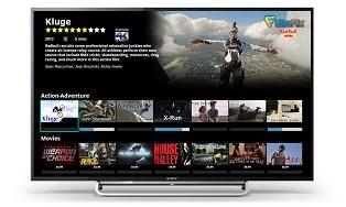 UltraFlix скоро будет доступен на телевизорах Sony