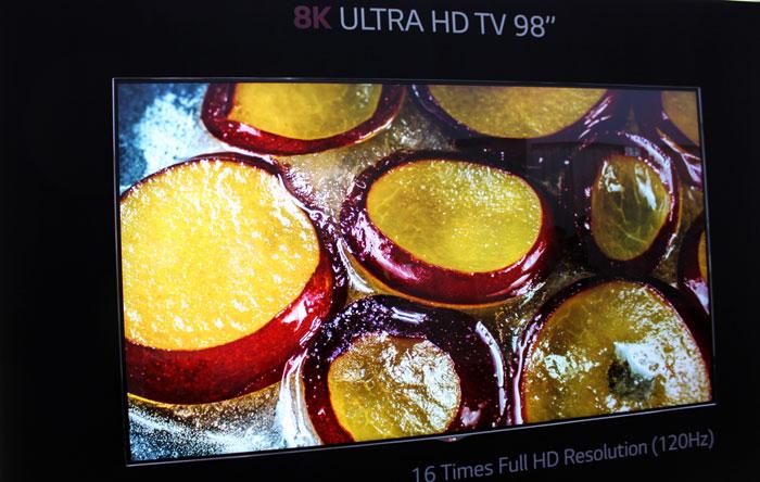 Samsung и LG продемонстрировали 8К телевизоры
