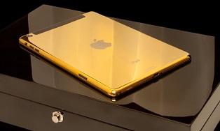 iPad в золотом корпусе