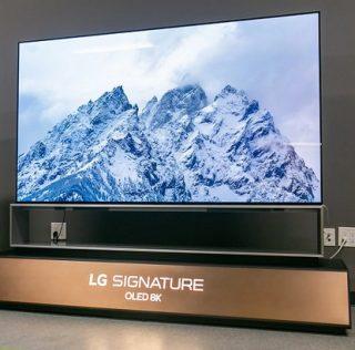 8K телевизор LG OLED с диагональю 88″ и 77″